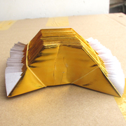 Gold paper 1000 gold paper gold ingot semi-finished products shipping paper offerings