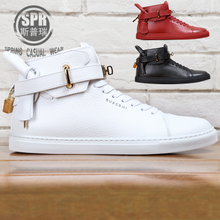BUSCEMI is the classic golden head shoes 100mm