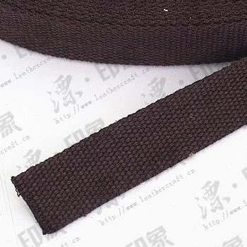 One inch cotton straps umber 610525