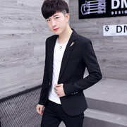 Spring new casual suit, men's Korean version, self-cultivation, clothes, youth, handsome, small suit, fashion men's coat