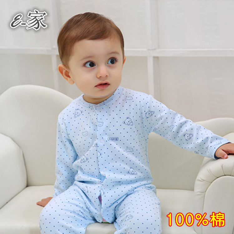 Baby long sleeve jumpsuits baby costumes romper for fall/winter open Spring full moon baby dress baby clothes Pack-mail