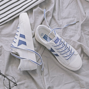 Global all-match white shoes women shoes 2017 new autumn Korean canvas shoes ulzzang shoes' Harajuku