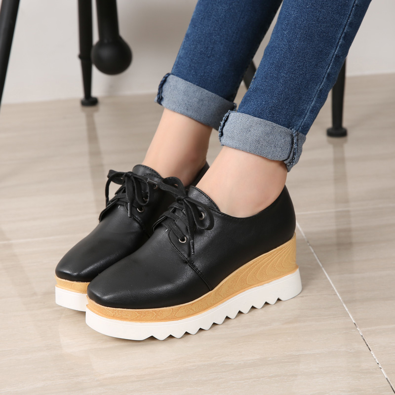 Spring and autumn and winter shoes with thick high-heeled muffin bottom slope belt stars baby with small size shoes shoes 313233