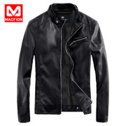 Macfion/ Mike · fine men leather season clearance thickening