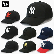 Hat man NY Baseball Cap Hat female Korean tide surge peaked cap sun hat sun hat leisure hip-hop cap