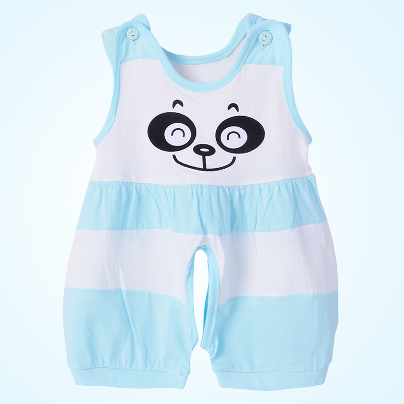 Baby sleeveless, one-piece, thin, newborn clothes, summer stalls, baby clothes, air conditioning, climbing clothes