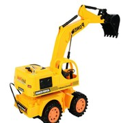 New type remote control excavator with light remote control engineering car toy toy car
