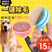 Dog cat Teddy golden comb brush special dog grooming brush comb hair removal device for large dog supplies