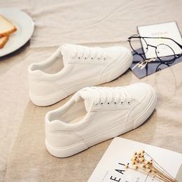 2018春季新款布鞋百搭小白鞋休闲帆布鞋女学生韩版原宿1992板鞋子