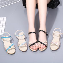 2017 new summer wedges Dichotomanthes end mother sandals girls with a comfortable all-match pregnant women