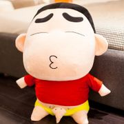 Cartoon crayon small new doll plush toy cute doll doll can wear big new clothes
