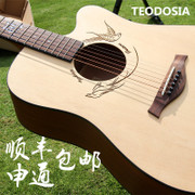 Teodosia spruce, rose wood guitar, 40 inch 41 inch box, folk guitar, Beginner Guitar, performance guitar