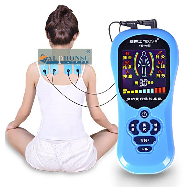 Kang Ci colorful days digital health t2dm instrument electronic multi-function channels and collaterals acupuncture point massage instrument cervical shoulder and waist