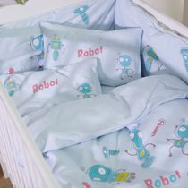 Best selling blue Platinum Robert infants and small babies bedding cotton bedding