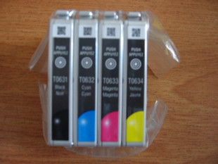Genuine Epson EPSON R250 R430 R530 ink cartridge T0561 black color disassemble cartridge