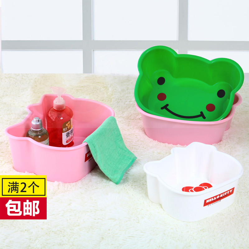 Baby baby basin basin footbath cartoon children lavatory newborn plastic PP material of small basin