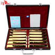 The 24 hole harmonica playing senior Swan golden 12 ABCDEFGA#C#D#F#G# Gift Set