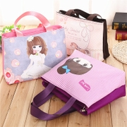 New ladies handbag fashion handbag cloth small middle-aged mummy bag printing small bag casual bag