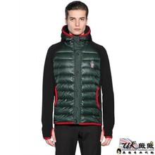 The new MONCLER GRENOBLE union purchasing male hooded gaze can be brushed nylon jacket