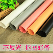 PVC background color board camera props background cloth photography props reflective cloth background shooting props