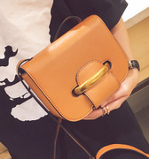 Ming ou luggage 2017 new mini single shoulder bag personality simple small bag ring oblique female bag one hair generation
