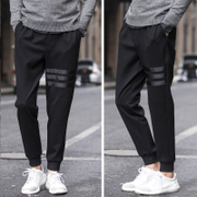 Spring men Haren pants pants feet Wei pants pants cuff sport loose long pants 2017 NEW
