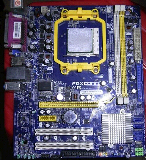 Inventory foxconn C61 motherboard M61PMV support AM3 dual-core four seconds, 740, 760, 780 g