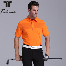The new Golf Polo Shirt genuine summer clothing thin uniforms dry Breathable Mens Golf short sleeved T-shirt