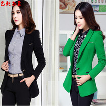 Little Blazer womens spring dresses in new long slim casual fall suits ladies suits long sleeve
