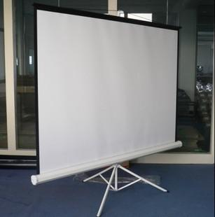 Curtain red screen projector stand, landing 100 high-definition outdoor mobile inch /120 inches, /4 than 3/16 9