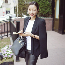 Korea purchasing quality goods in spring and autumn in Korean version of the short woman small business suit temperament suit jacket slim Cape shawl