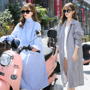 Spring and summer cycling, motorcycles, electric cars, sunscreen, shawls, UV protection, long sleeves, cotton clothes, sun jackets, women