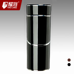 Yao Jing inside liner of stainless steel ceramic bone China Mug health Cup straight Cup 350ML-mail