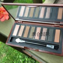 Thailand elegant genuine Mistine eight color MINERAL EYESHADOW earth color 8 color eye shadow smoke nude make-up plate