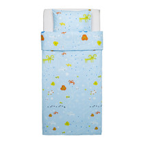 (Chengdu IKEA purchase) IKEA Gaertel bed sets quilt cover and pillowcase cartoon animals light blue