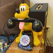Limited special! Pluto Disney retro phone with original box collection