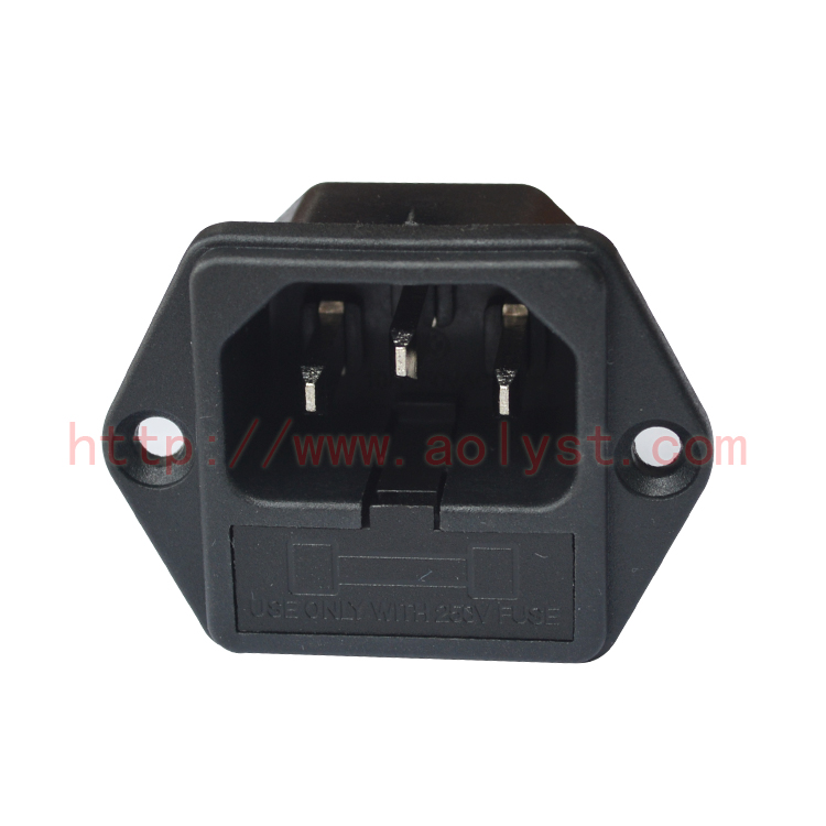 0.58] [The goods stop production and no stock]AC socket with ... on