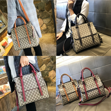 Authentic Hong Kong bag female new handbag leather Kelly bag Messenger bag Ms. shoulder bag Tote female bag