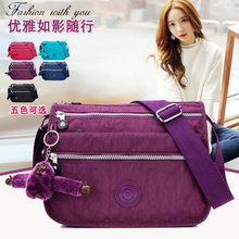 The new canvas bag nylon Oxford Crossbody Bag waterproof light small bag mother package in the elderly