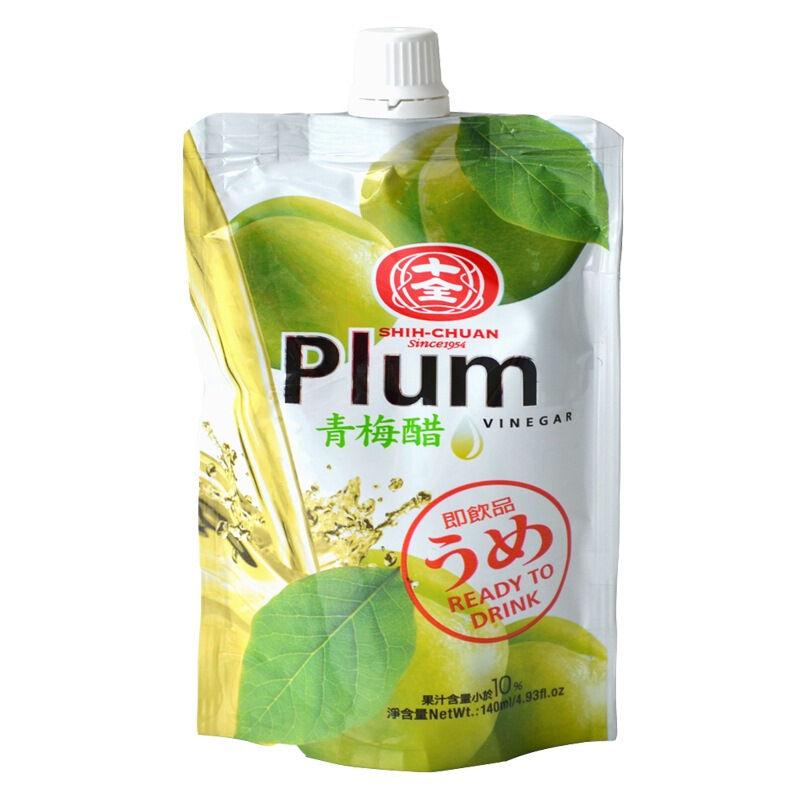 台湾原装进口单支装十全青梅醋140ml即饮饮品冰镇口感更佳