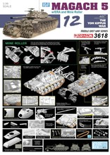 SHOW model Veyron 3618 1/35 Israel Ma Jiaqi 5 main battle tanks enhanced armored mine sweeper