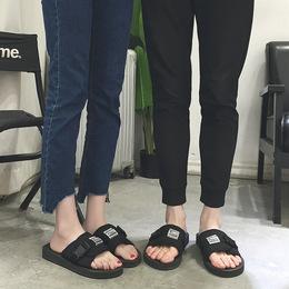 2018新款拖鞋男夏防滑软底一字拖男士厚底夏季男款潮流凉拖鞋外穿