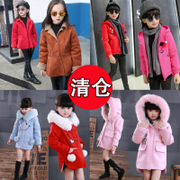 A special offer at a loss (buy is made) winter wool coat coat girls 6-12 years old children