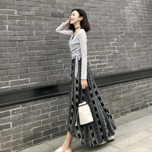 dress 2018 spring and summer new ladies Korean fashion floral chiffon dress loose slim thin strapless dress