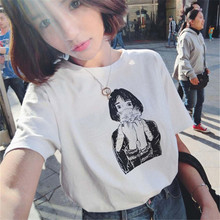 In the summer of 2017 new women's college students all-match Korean wind coat T-shirt vitality girl T-shirt girl