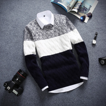 13 young Korean men and 14 middle school students turtleneck sweater slim knit sweater 15-16-17 old boys sweater