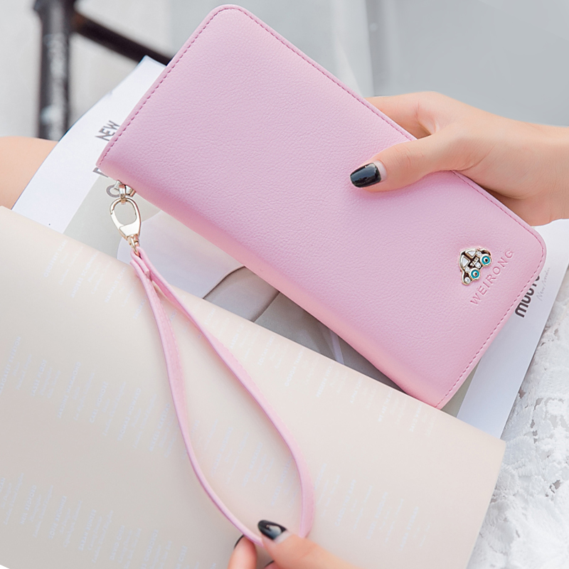 Wallet retro about multifunctional change tri-fold short version Joker women's purse wallet