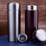 Korean stylish upscale thermos mug business men women packed Cup stainless steel lettering custom-line water Cup