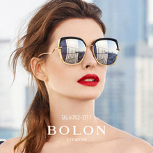 BOLON Tyrannosaurus 2018 New Butterfly Polarized Sunglasses Star The same paragraph Sunglasses Women Fashion Glasses BL6052