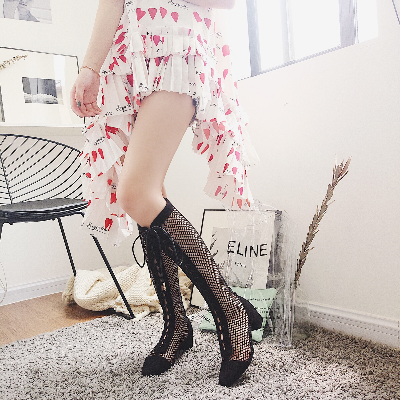 Купить из Китая Женские сапоги выше колен через интернет магазин internetvitrina.ru - посредник таобао на русском языке
